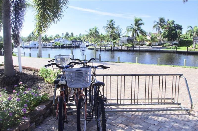 Sanibel has 26.1 miles of bike paths. Bring or rent one!