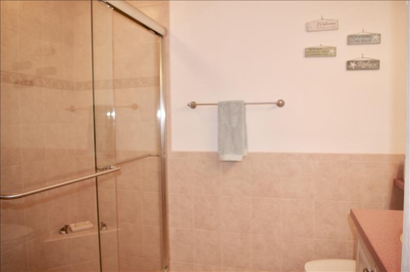 Shower; custom closets