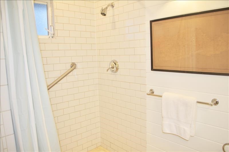 Subway tiled Kohler shower