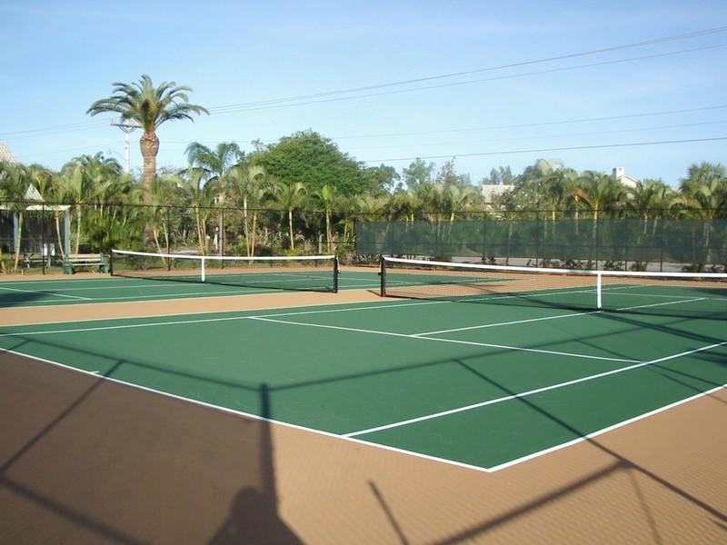Tennis, anyone? Bring your racquet.