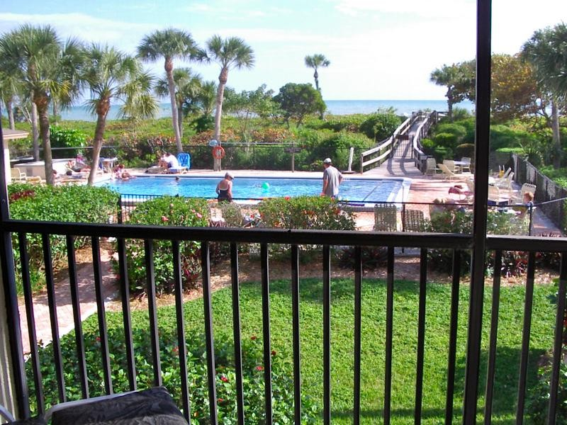 The outdoor pool is heated seasonally for your comfort.