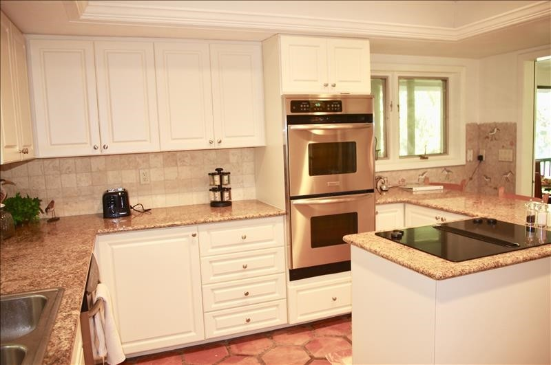 The kitchen is fully-equipped with everything you need!