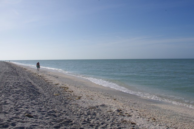 You can stroll the sugar sand beaches for miles and miles.