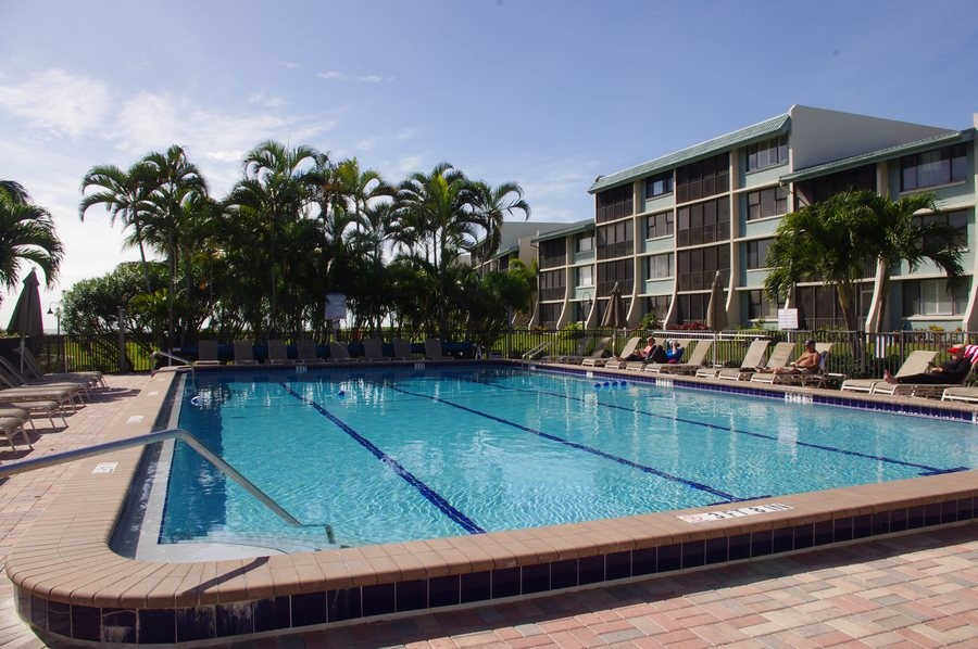 The pool is heated seasonally for your comfort.